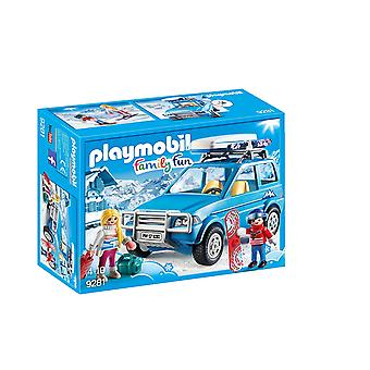 Playmobil 9281 familie leuk Winter Suv figuur Playset