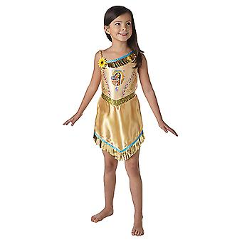 Pocahontas fairytale fairy tale princess dress for children
