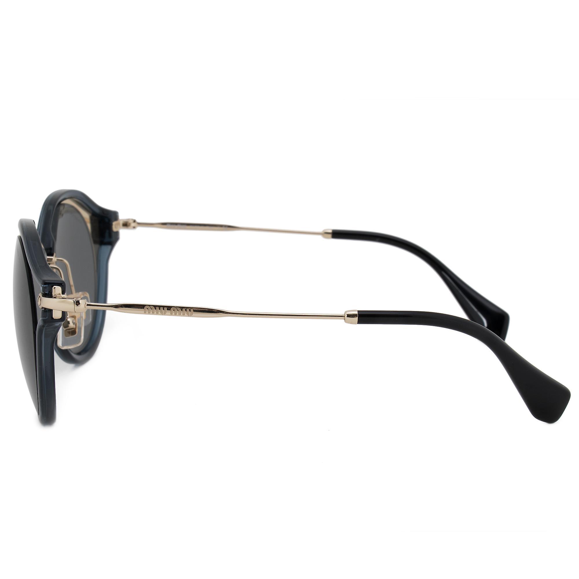 Miu Miu Round Sunglasses SMU51SS 1AB9K1 49