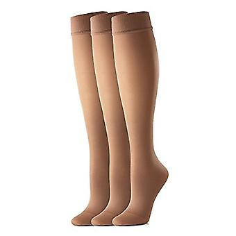 X-Lge 10Mmhg da areia activa compressão collants Collants forros 3