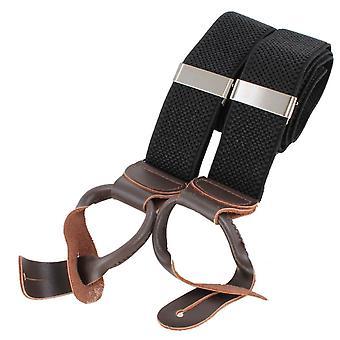 Knightsbridge Neckwear luksus bukseseler - svart