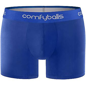 Comfyballs Long Boxers - All Blue