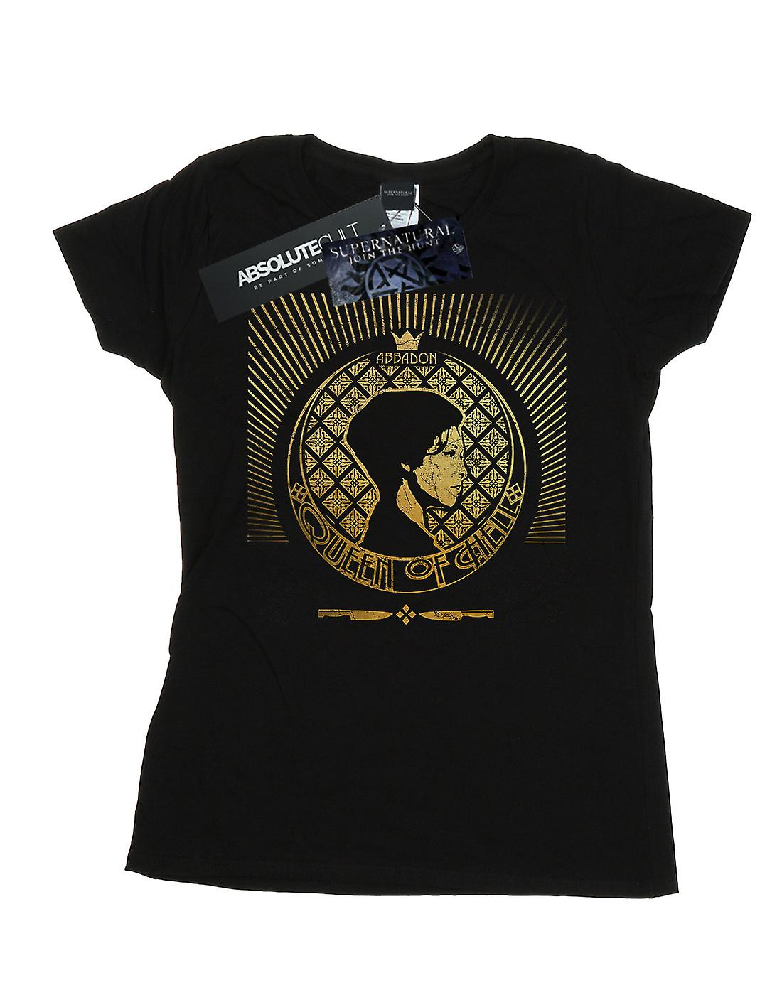 Supernatural Women's Abbadon Crest T-Shirt