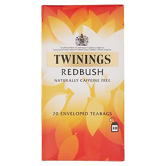 Twinings Redbush Enveloped Tea Bags