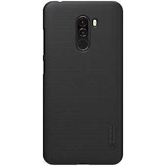 NILLKIN Xiaomi Pocophone F1 Frostat skal hårt - Svart