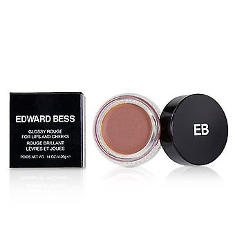 Edward Bess Glossy Rouge For Lips And Cheeks - # Naked Rose - 4.05g/0.14oz