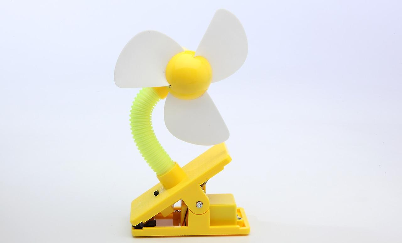 Mini Portable Usb Rechargeable Battery Clip Fan