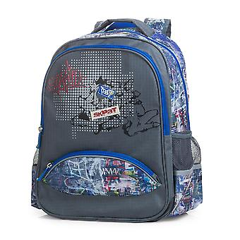 Backpack padded school children child Skpat with top handle 15 litres 53902