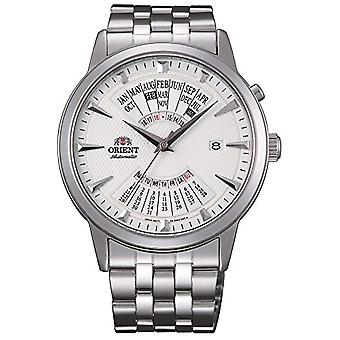 Orient Automatic Analog Man with stainless steel strap FEU0A003WH