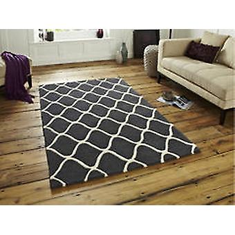 Elements EL65 Grey  Rectangle Rugs Plain/Nearly Plain Rugs