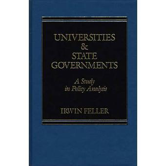 Universiteiten en nationale regeringen A Study in beleidsanalyse door Feller & ik