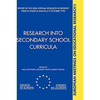 Forschung in die Lehrpläne der Sekundarstufe von Heywood