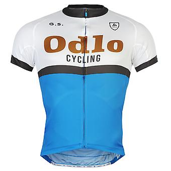 Odlo Mens Ride Jersey Breathable Lightweight Full Zip Cycling Bicycle Top