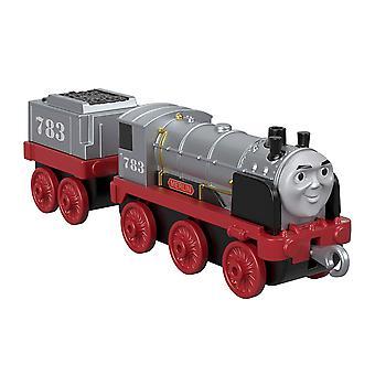 Thomas y amigos FXX26 pista principal empujan a lo largo de la gran fundición Merlin