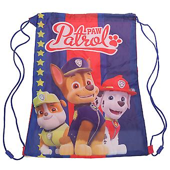 Paw Patrol Childrens/Kids Character Drawstring Bag
