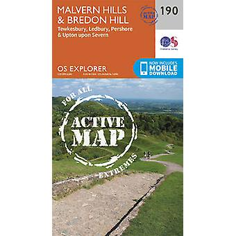 Malvern Hills and Bredon Hill (September 2015 ed) by Ordnance Survey