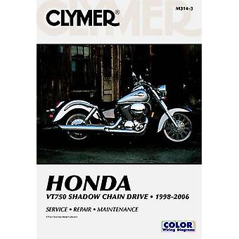 Honda VT750 Shadow Chain Drive 1998-2006 (3rd Revised edition) by Jam