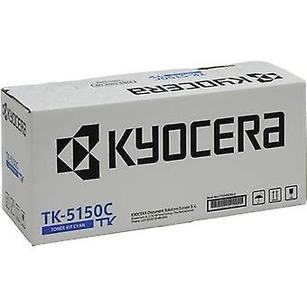 Kyocera Toner cartridge TK-5150C 1T02NSCNL0 Originele Cyan 10000 Kanten