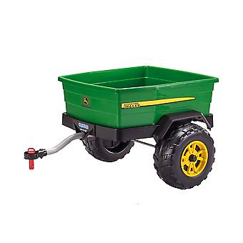 John Deere Adventure Trailer Green For Gator Tractor - Peg Perego