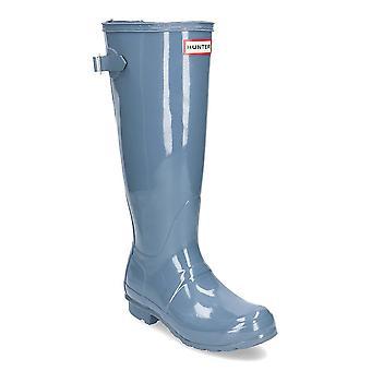 Hunter mujeres Org Back Ajuste Brillo WFT1001RGLGULLGREY agua todo el año zapatos de mujer