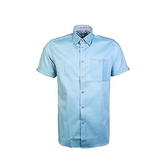 Ted Baker Camicia Short Sleeve Slim Fit Mma-wallabi-th9m