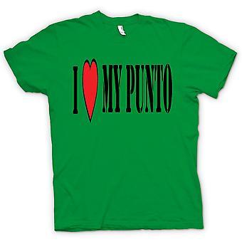 Womens T-shirt - ich LoveMy Punto - Spaß - Fiat Auto