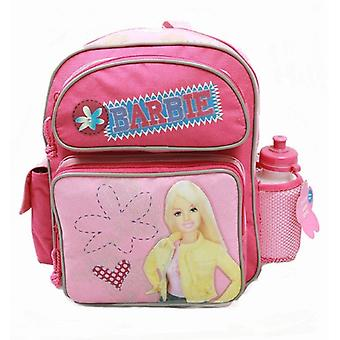 Small Backpack - Barbie - w/ Water Bottle - Pink Label New School Bag 18456