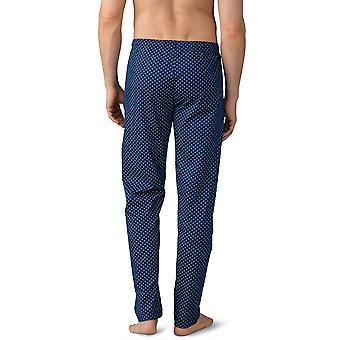 Mey Men 21460-664 Men's Lounge Neptune Blu Tile Stampa Cotone Pajama Pyjama Pant