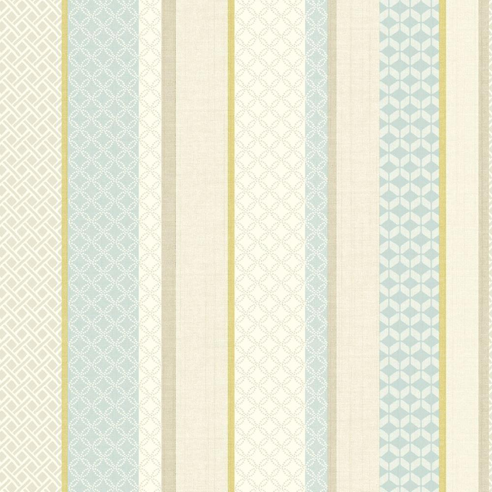 Striped Geometric Metallic Wallpaper Teal Lime Aztec Floral Holden