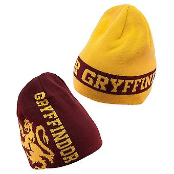 Harry Potter Gryffindor Reversible Stricken Beanie
