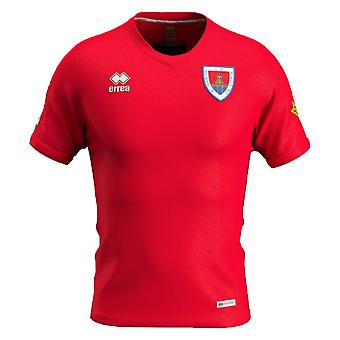 2019-2020 Numancia Errea Home Football Shirt