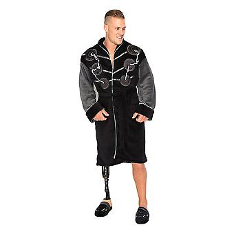 Marvel Avengers Thor Black Fleece Robe à capuchon