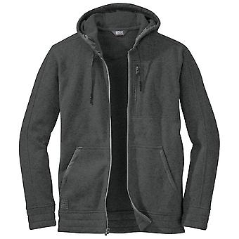 Outdoor Research Charcoal Mens Belmont Hooded Jacket