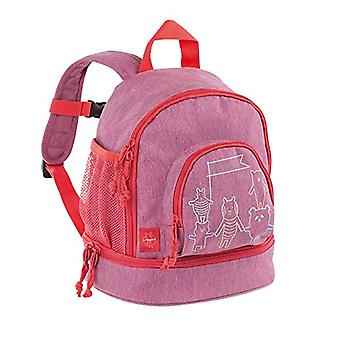 Lassig Children's Backpack for Asylum or Leisure with Chest Belt/ Mini Backpack About Friends - Pink