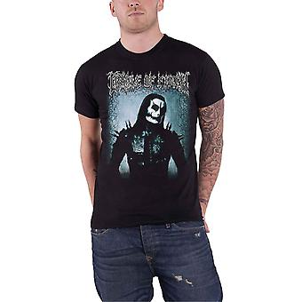 Cradle Of Filth T Shirt Haunted Hunted Band Logo new Official Mens Black