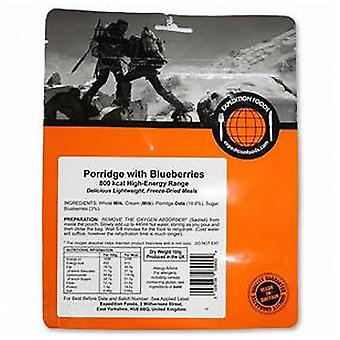 Expedition Foods No Colour Oats With Blueberries