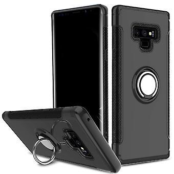Samsung Note 9 hybrid armor shell magnetic case black
