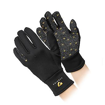 Shires Aubrion Patterson Womens Winter Gloves - Black