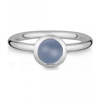 Quinn-zilveren ring met Chalcedoon-021832615