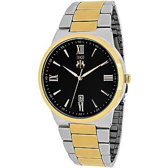 Jivago Men's Clarity Black Dial Watch - JV3513