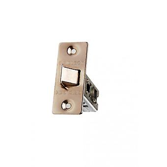 Intelligent Tubular Mortice Latch Electro Brass
