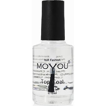 MoYou Stamping Nail Art - Special Nail Polish - Topcoat 12ml
