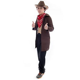 Ride ' em cowboy costum de Halloween, mediu