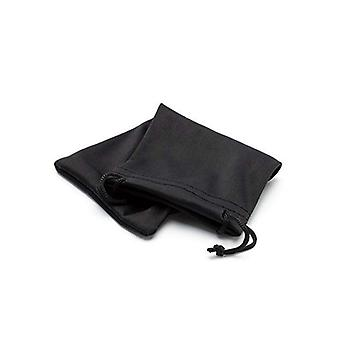 Pack of 5 Soft Black Case Pouch Protector For Sunglass Or Jewellery