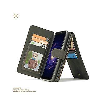 Kotelo Samsung Galaxy S8 Plus musta monitoimisalkku