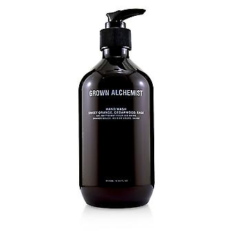 Grown Alchemist Hand Wash - Sweet Orange Cedarwood & Sage - 500ml/16.9oz