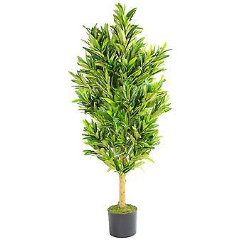 120cm (4ft) künstliche bunt gefleckten Dracaena Baum Pflanze groß