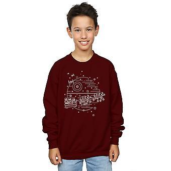 Star Wars Boys Death Star Sleigh Sweatshirt