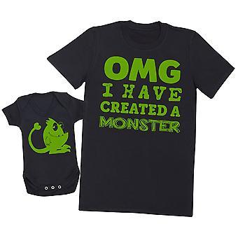 OMG I've Created a Green Monster! - Mens T Shirt & Baby Bodysuit