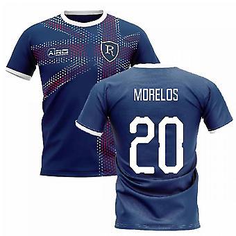 2019-2020 Glasgow Home Concept Fußball Shirt (MORELOS 20)